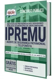 AGENTE DE SEGURANÇA PATRIMONIAL E TELEFONISTA