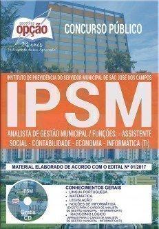 Apostila Concurso IPSM 2018 | ANALISTA DE GESTÃO MUNICIPAL (COMUM A TODOS)