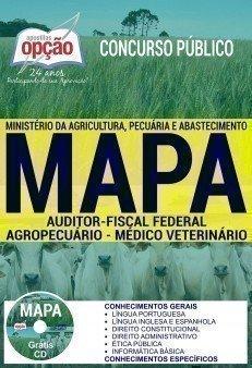 Apostila Concurso MAPA 2017 - AUDITOR FISCAL FEDERAL AGROPECUÁRIO - MÉDICO VETERINÁRIO