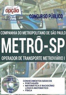 OPERADOR DE TRANSPORTE METROVIÁRIO I