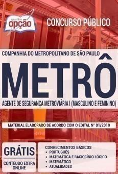 AGENTE DE SEGURANÇA METROVIÁRIA I (MASCULINO E FEMININO)