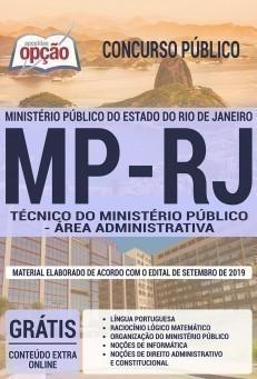 TÉCNICO DO MINISTÉRIO PÚBLICO - ÁREA ADMINISTRATIVA