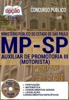AUXILIAR DE PROMOTORIA III (MOTORISTA)