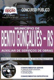 AUXILIAR DE SERVIÇOS DE OBRAS