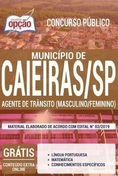 AGENTE DE TRÂNSITO (FEMININO/ MASCULINO)