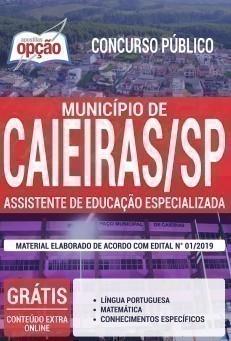 ASSISTENTE DE EDUCAÇÃO ESPECIALIZADA