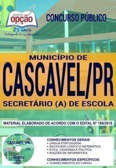 SECRETÁRIO (A) DE ESCOLA