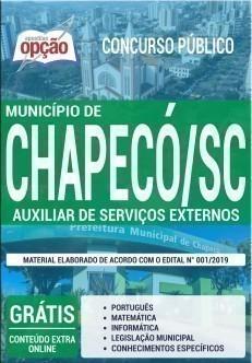AUXILIAR DE SERVIÇOS EXTERNOS