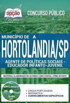 AGENTE DE POLÍTICAS SOCIAIS - EDUCADOR INFANTO JUVENIL