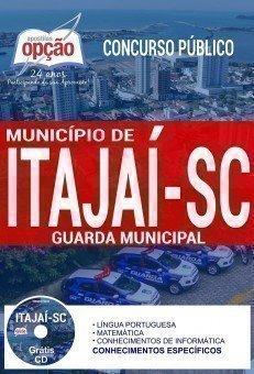 Apostilas Concurso Público Guarda Municipal de Itajaí - SC 2017