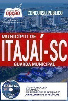 Apostila Concurso Município de Itajaí 2017 | GUARDA MUNICIPAL