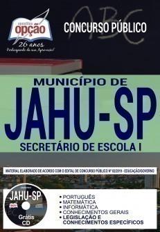 SECRETÁRIO DE ESCOLA I