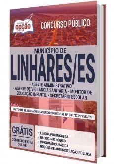 AGENTE ADM. AGENTE DE VIGILÂNCIA SANITÁRIA, MONITOR DE EDU. INFANTIL E SECRETÁRIO ESCOLAR