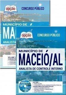 Apostila Concurso Maceió 2017 ANALISTA DE CONTROLE INTERNO.