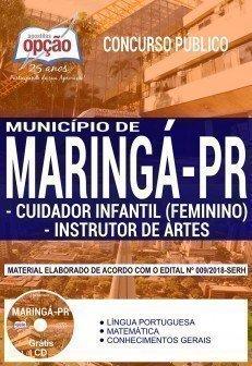 CUIDADOR INFANTIL (FEMININO) E INSTRUTOR DE ARTES