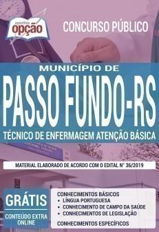 TÉCNICO DE ENFERMAGEM ATENÇÃO BÁSICA