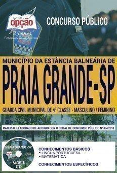 GUARDA CIVIL MUNICIPAL DE 4ª CLASSE - MASCULINO / FEMININO