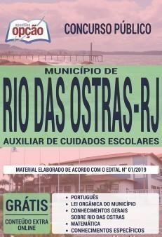 AUXILIAR DE CUIDADOS ESCOLARES