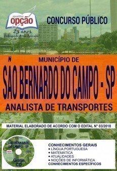 ANALISTA DE TRANSPORTES