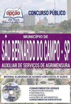 AUXILIAR DE SERVIÇOS DE AGRIMENSURA