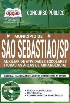 AUXILIAR DE ATIVIDADES ESCOLARES (TODAS AS ÁREAS DE ABRANGÊNCIA)