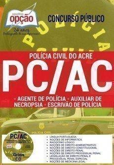 AGENTE DE POLÍCIA, AUXILIAR DE NECROPSIA E ESCRIVÃO DE POLÍCIA