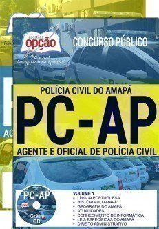 Apostila POLÍCIA CIVIL AP - AGENTE 2017