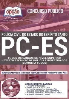 COMUM AOS CARGOS DE NÍVEL SUPERIOR - EXCETO ESCRIVÃO E INVESTIGADOR