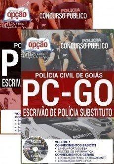 Apostila Concurso Polícia Civil de Goiás (PCGO) ESCRIVÃO DE POLÍCIA SUBSTITUTO