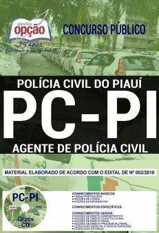AGENTE DE POLÍCIA CIVIL