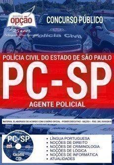 Apostila Polícia Civil-SP - Agente Policial AP (PC-SP)