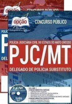 Apostila Concurso PJC MT 2017 – DELEGADO DE POLÍCIA SUBSTITUTO
