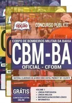 OFICIAL BOMBEIRO MILITAR - CFO BM