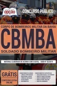 SOLDADO BOMBEIRO MILITAR - CBMBA