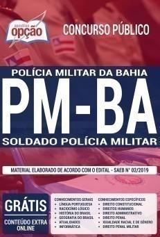 SOLDADO POLICIA MILITAR - PMBA