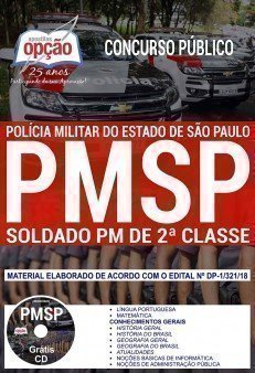 Apostila Concurso PM SP 2017 - SOLDADO PM DE 2ª CLASSE