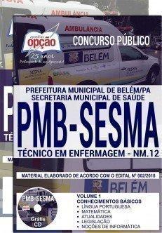 TÉCNICO EM ENFERMAGEM - NM. 12