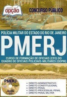 Apostila PDF: Concurso Polícia Militar RJ (Download) - CFO PMERJ