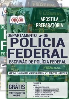 ESCRIVÃO DE POLÍCIA FEDERAL