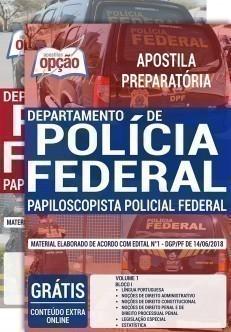 PAPILOSCOPISTA POLICIAL FEDERAL