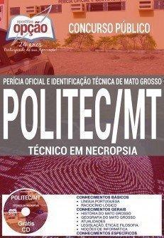 Apostila Concurso POLITEC MT TÉCNICO EM NECROPSIA