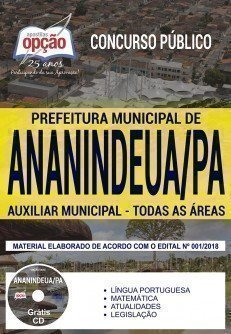 AUXILIAR MUNICIPAL - TODAS AS ÁREAS