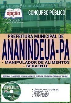 MANIPULADOR DE ALIMENTOS E SERVENTE