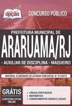 AUXILIAR DE DISCIPLINA E MAQUEIRO