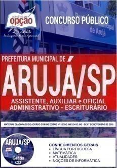 ASSISTENTE, AUXILIAR E OFICIAL ADMINISTRATIVO - ESCRITURÁRIO