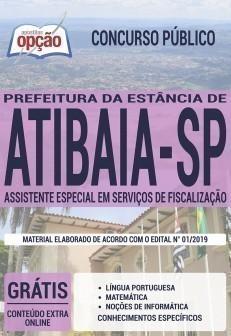 ASSISTENTE ESPECIAL EM SERVIÇOS DE FISCALIZAÇÃO