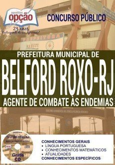 Apostila Concurso Prefeitura de Belford Roxo AGENTE DE COMBATE ÀS ENDEMIAS