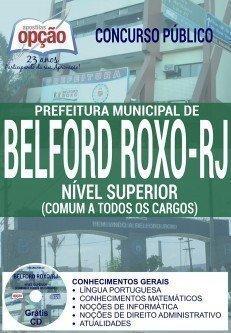 Apostila Concurso Prefeitura de Belford Roxo-RJ 2016