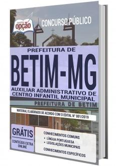 AUXILIAR ADMINISTRATIVO DE CENTRO INFANTIL MUNICIPAL