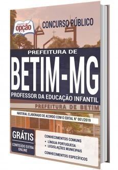 PROFESSOR DA EDUCAÇÃO INFANTIL